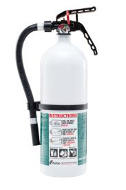 Kidde Disposable Fire Extinguisher with plastic valve