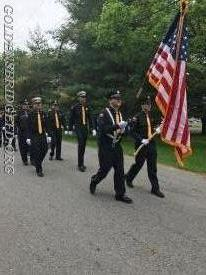 The GBFD Color Guard & Some of the Officers.