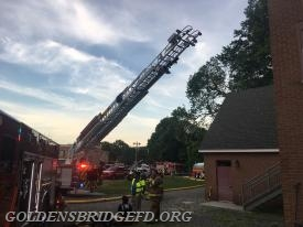 KFD Ladder 39 putting the ladder into operation.
