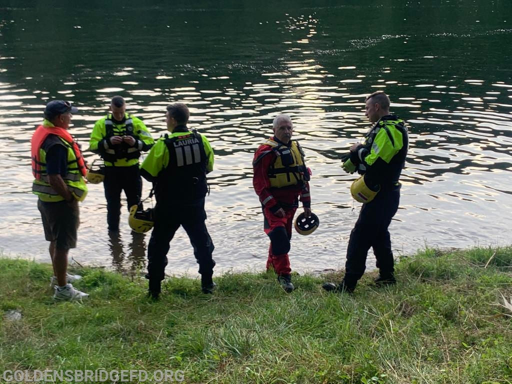 Some of the members of the YHFD Dive Team.