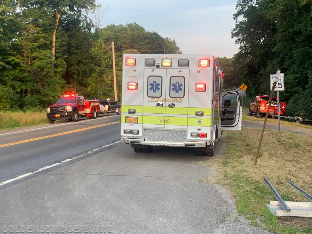 YHFD MA8 towing M55 and M56, LVAC 67B1 and GBFD R25 which tows M25.